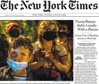 En 20 años desaparecería la edición impresa de The New York Times
