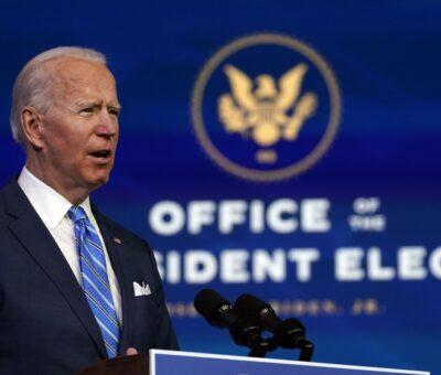 Los retos de Biden al asumir la presidencia de los Estados Unidos