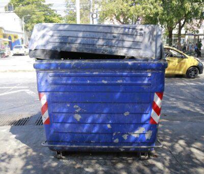 Inicia campaña para evitar mal uso de contenedores en Santa Marta