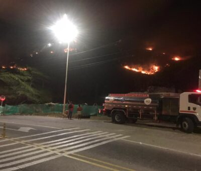 Provocadores de incendios serán identificados y sancionados: Alcaldía