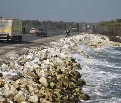 Arranca el paliativo en la vía Barranquilla – Ciénaga
