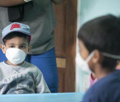 Los niños: también propensos al Covid-19 en Barranquilla