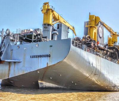 Arranca dragado en el canal de acceso al Puerto de Barranquilla