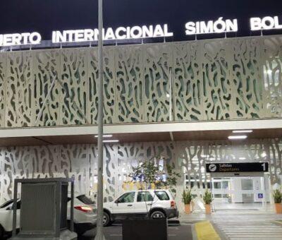 Incidente por falsa amenaza de bomba en el aeropuerto de Santa Marta