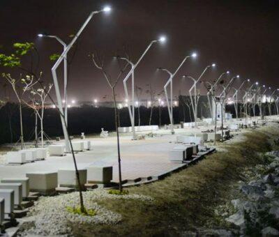 Los puntos críticos del robo de luminarias en Barranquilla
