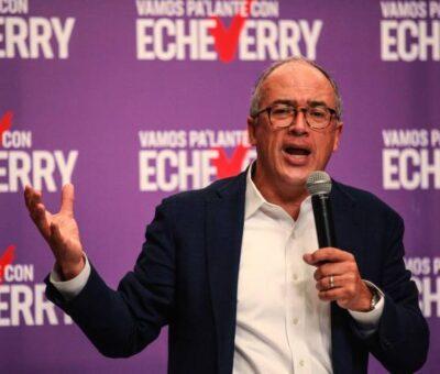 Echeverry se lanza a la carrera presidencial