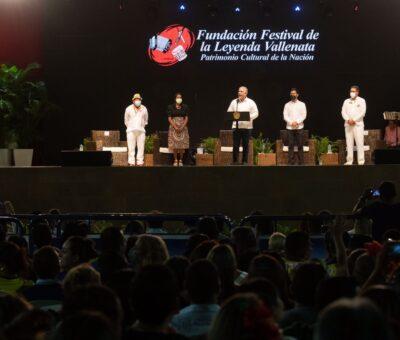 Inaugurado oficialmente el Festival Vallenato