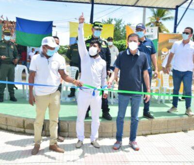 Cachimbero, en Soledad, cuenta ahora con nuevo parque