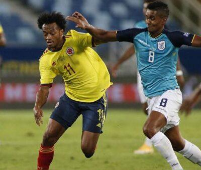 Colombia vs Ecuador: un duelo con alta intensidad