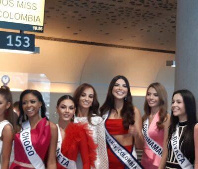 Arranca 'Miss Universe Colombia' con vuelo real